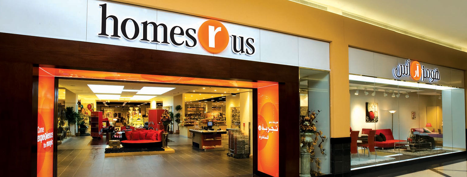 Homes r us Home center furniture in dubai